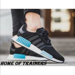 c813aabcc ADIDAS NMD R1 Boost Icy blue + Core black 35.5